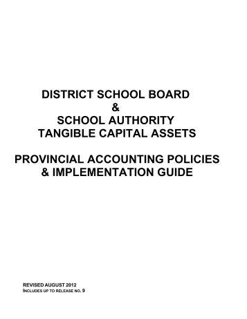 SCHOOL BOARD - Financial Analysis and Accountability Branch