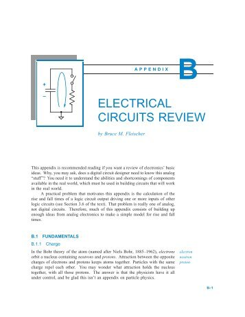 Electrical Circuits Review - Digital Design Principles and Practices