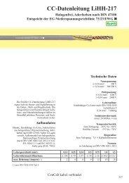 CC-Datenleitung LiHH-217 - ConCab kabel gmbh