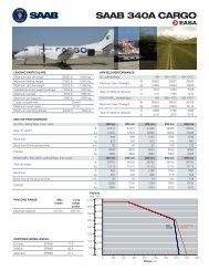 SAAB 340A CARGO - Saab Aircraft Leasing