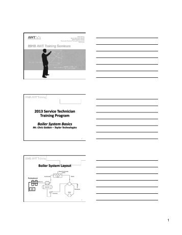 Basic & Intermediate Boiler Training Course - DTW Designs