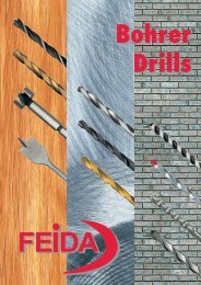 HSS twist drill DIN 338 - Feida Tools Deutschland GmbH