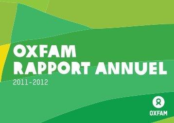 Rapport annuel 2011-2012 - Oxfam International
