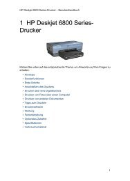 1 HP Deskjet 6800 Series- Drucker - Hewlett Packard