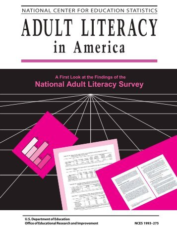 Adult Literacy in America - National Center for Education Statistics ...