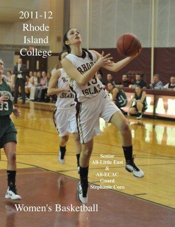 2011-12 Women's Basketball Media Guide - Rhode Island College ...