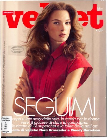 Velvet - Bologna Welcome