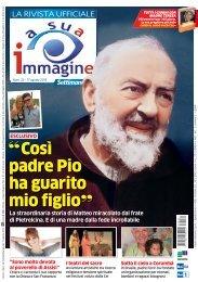 Così padre Pio ha guarito mio figlio - A Sua Immagine