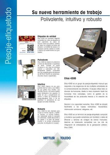 Pesaje etiquetado Pesaje-etiquetado - METTLER TOLEDO