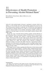 Effectiveness of Health Promotion in Preventing ... - ResearchGate