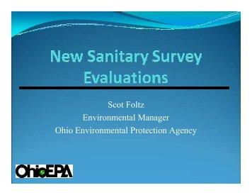 Sanitary Surveys - Ohiowater.org