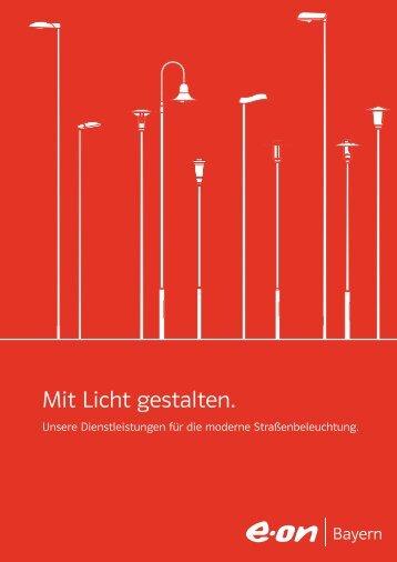 Straßenbeleuchtungs- katalog [Juni 2012] (PDF, 1,4 MB - E.ON Bayern