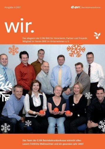 Das Magazin der E.ON BKK für Versicherte