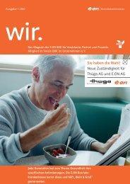 E.ON Betriebskrankenkasse Magazin 2007-1 - E.ON BKK