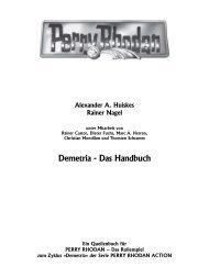 Demetria - Das Handbuch - Perry Rhodan - Das Rollenspiel