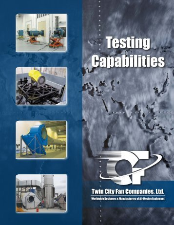 Testing Capabilities - Clarage