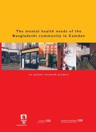 The mental health needs of the Bangladeshi community ... - Bwhp.org