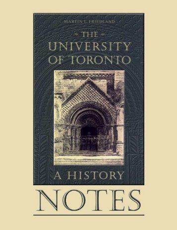 Complete Notes - University of Toronto Press Publishing