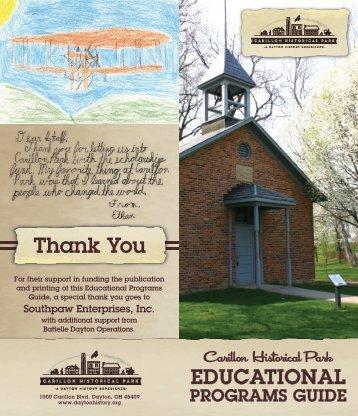 Download Educational Program Guide - Dayton History