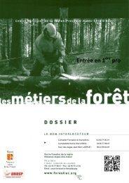 Bac Pro - Le Centre Forestier de la région Provence-Alpes-Côte d'Azur