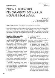 padomju okupācijas demogrāfiskās, sociālās un morālās sekas latvijā