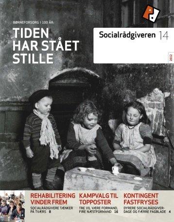 Socialrådgiveren nr. 14-2012 - Dansk Socialrådgiverforening