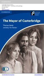 The Mayor of Casterbridge - Cambridge University Press