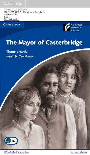 The Mayor of Casterbridge - Cambridge University Press