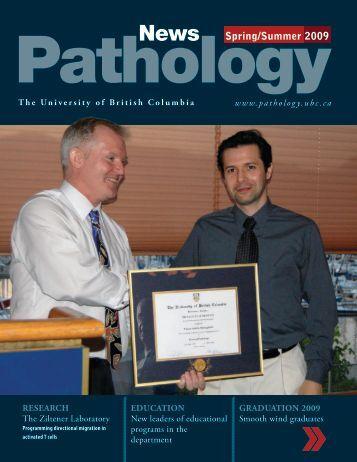 Spring/Summer 2009 - Pathology and Laboratory Medicine