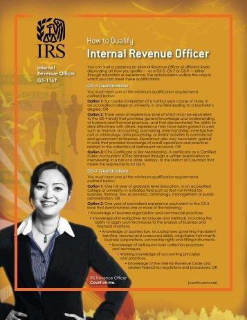 Revenue Officer Qualifications - University Blogs