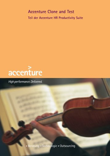 Accenture Clone and Test - HR Force