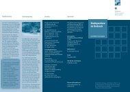 Informationsblatt zum Projekt - Planung Gertz Gutsche Rümenapp