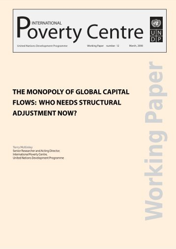 The monopoly of global capital flows - International Policy Centre for ...