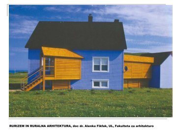 HIÅA - Fakulteta za arhitekturo