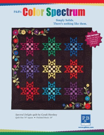 to download the 'Color Spectrum' - Stitch-N-Frame
