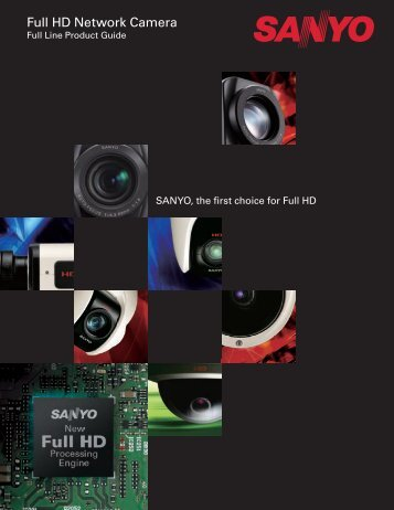 Full HD Network Camera - Sanyo