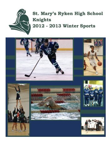 Home of the Knights - St. Mary's Ryken High School