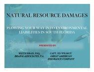 Environmental Liabilities In Florida Paper Slides - Brais & Brais