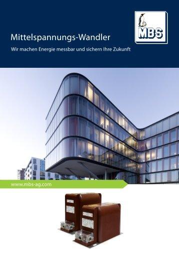 Mittelspannungs-Wandler - Mbs-ag.com