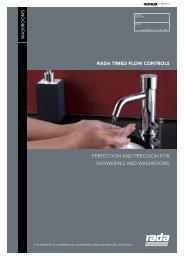 Rada Timed Flow Controls - RADA Time Flow Controls