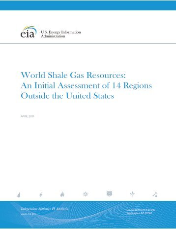 World Shale Gas Resources - Europe's Energy Portal