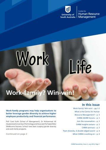 CHRM Newsletter July 2014