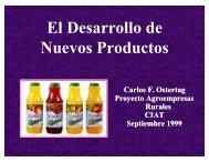 El Desarrollo de nuevos productos -C. Ostertag-