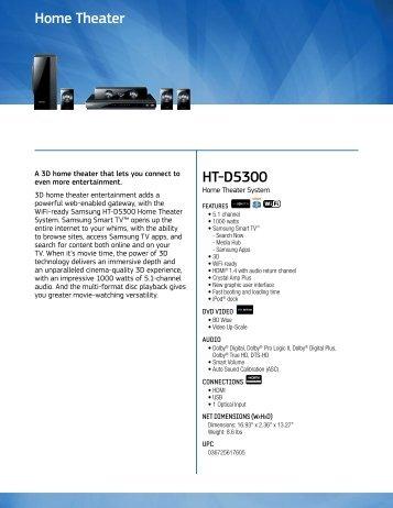 Watt FLat Speaker Home Theater System LG Electronics - Abt home theater