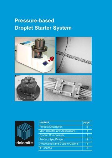 to download datasheet - Dolomite Microfluidics