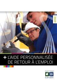 Aide personnalisée de retour à l'emploi - Conseil général du Calvados
