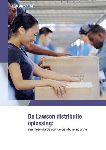 Lawson M3 Groothandel & distributie Brochure - Logismarket, de ...