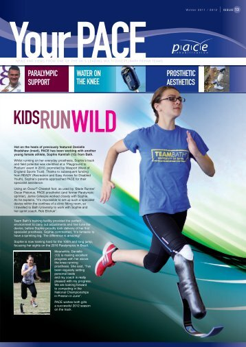 Issue 13 - Winter 2011/12 - PACE Rehabilitation