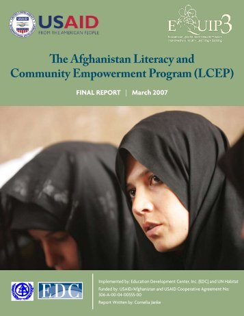 The Afghanistan Literacy and Community ... - EQUIP123.net