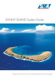 SUNNY ISLAND System Guide - System Solutions for Your Stand ...